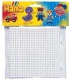 Hama Beads - Square & Round Pegboard Large (Midi Beads)