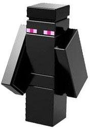 LEGO Minecraft LOOSE Enderman Microfigure - 1