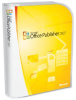 Microsoft Publisher 2007  French (vf) Version Upgrade