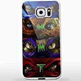 Teenage Mutant Ninja Turtles All Character Face for Iphone and Samsung Galaxy Case Cover (Samsung Galaxy S6 white)
