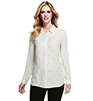 M&S Collection Stud Embellished Blouse