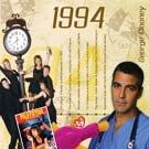 18. Geburtstag Geschenke – 1994 Chart Hits CD und 1994 Geburtstagskarte
