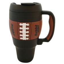 bubba 34 oz travel mug classic football