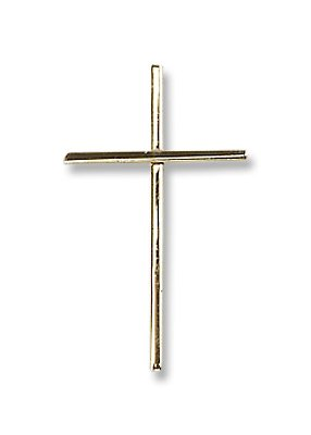 Gold Filled Cross Pendant with 18