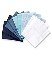 10 Pack Pure Cotton Assorted Muslin Cloths