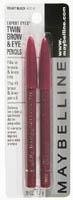 Maybelline Expert Eyes Twin Brow & Eye Pencils - Charcoal Grey