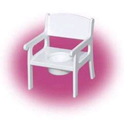 Just-a-Potty Chair - Color: White