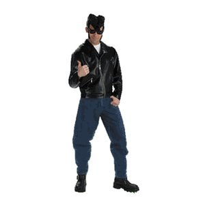 Men39;s Johnny Greaser 39;50s Halloween Costume: Adult Sized Costumes