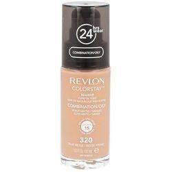 Revlon (nuova pompa !!!) ColorStay Fondazione Trucco per Combinazione / pelle grassa - 30ml, (320 TRUE BEIGE)