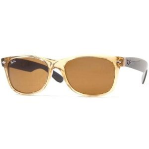 New Ray Ban Sunglass 2132 945 52-18 Honey w/ Brown RB2132