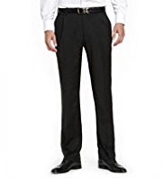 Collezione Made In Italy Luxury Italian Wool Trousers