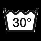WENKO Antischimmel Duschvorhang- waschbar bei 30°C