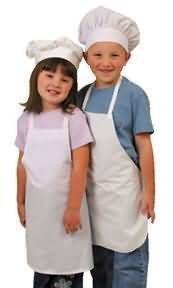 Kids Chef Costume - Apron and Hat