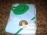 Carter's (Frog) Hooded Towel W/4 Washcloths - 1