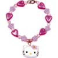 Hello Kitty Little Girls Flower Charm Bracelet