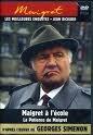 echange, troc Maigret - les meilleures enquetes jean Richard, volume 24 - Maigret a l'ecole - La Patience de Maigret