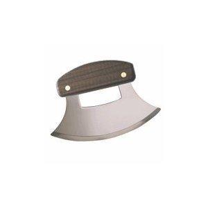 New Inupiat Plain Handle Walnut Ulu Knife