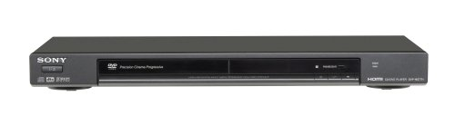 Sony DVP-NS77H/B 1080p Upscaling DVD Player with HDMI Output, Black