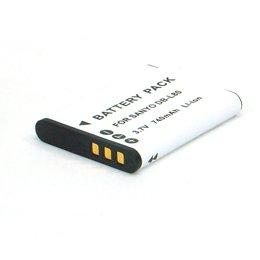 Batterie rechargeable au lithium-ion pour appareil photo / caméscope type / réf: SANYO DB L80 / DBL80 / DB L80AU/ DB L80EX / DBL80AU/ DBL80EX