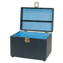 City Lights Duratex Train Case Small # 615-Black