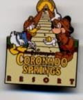Disney's Coronado Springs Resort Pre 2000 Pin