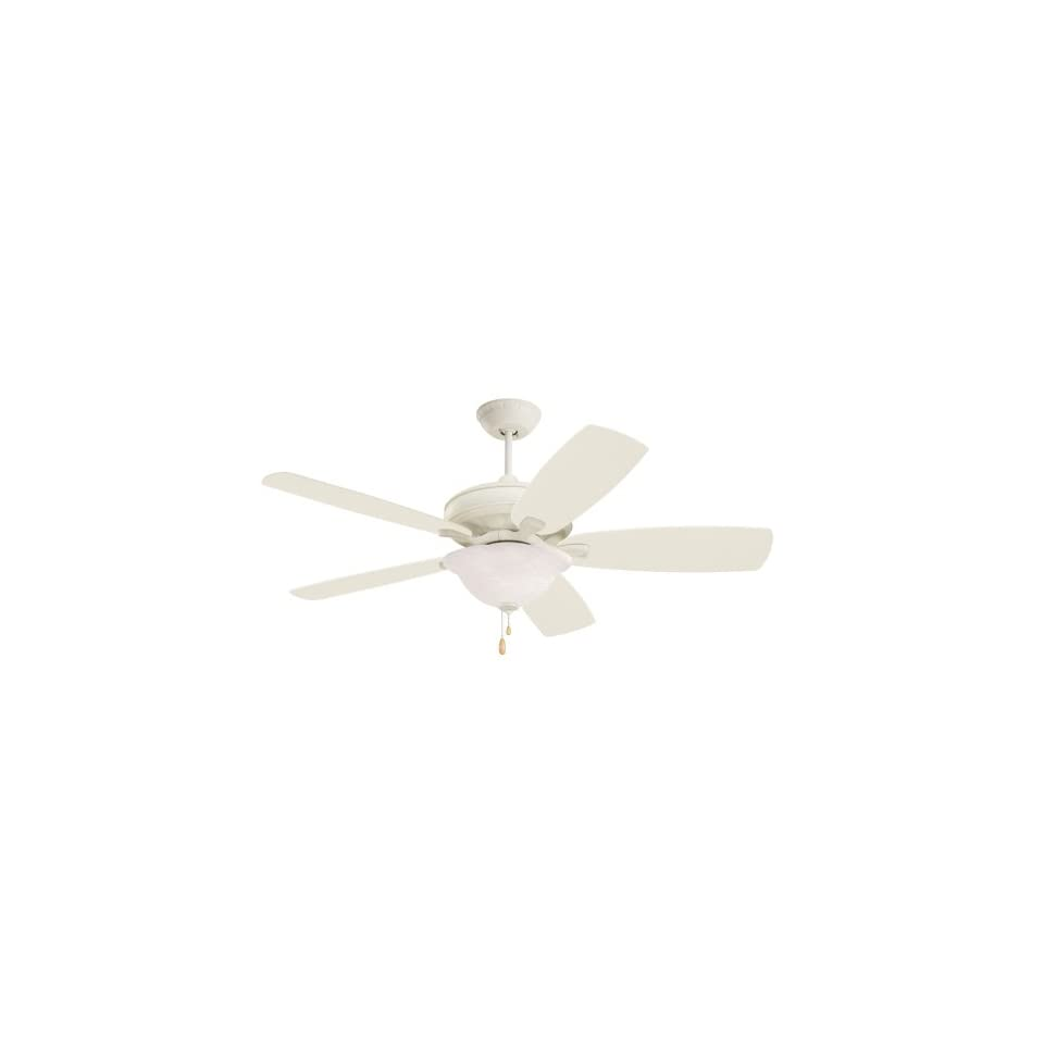 Emerson Ceiling Fans CF787AW Carrera Grande Indoor/Outdoor Ceiling Fan, 54 Inch, 60 Inch or 72 Inch Blade Span, Summer White Finish, Blades Sold Separately