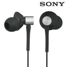 Sony Mdrex85Lp/Blk Soft Earbud With Soft Clip And Case Mdr Ex85Lp Black Factory Reconditioned