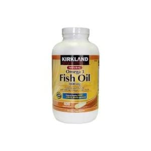 Kirkland Fish  on Kirkland Omega 3 Fish Oil 100mg 400tablets  Amazon Co Uk  Beauty