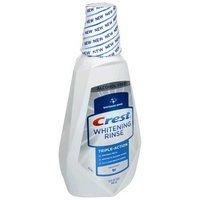 Crest Whitening Rinse Mouthwash, Fresh Mint 32 oz