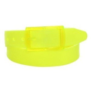 NEW! Neon Yellow Silicone Golf Belt - One Size Fits All