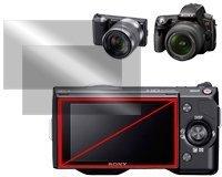 Micro Solution Digital Camera Anti-Fingerprint, Hydrophobic, Oleophobic HD Display Protection Film (Pro Guard F2AF) for Sony Alpha 6000 / NEX-7 / NEX-6 / NEX-5R / NEX-5N / NEX-5 / NEX-C3 / NEX-3 and Alpha 55 / Alpha 33 // DCDPF-PGSONEX