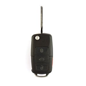 2002 Vw Jetta Flip Key Keyless Entry Remote (Complete Key Dealer Program Only)