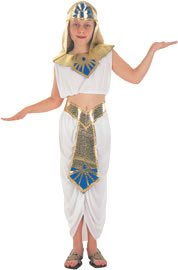 Just For Fun Childrens Egyptian Princess Costume - Medium Size