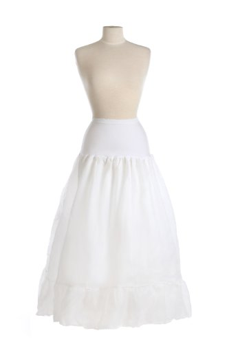 New A-line Bridal Spandex Control Top Petticoat Crinoline Wedding Gown Slip by BAGS FOR LESSTM