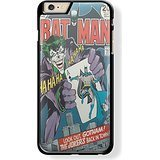 batman and joker cover comic for iPhone 6 Plus Black case