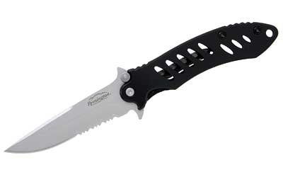 Remington F.A.S.T. Stainless Steel Folder Knife (Medium, Matte Black)