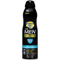 Banana Boat for Men Triple Defense UltraMist Clear Spray Sunscreen SPF 30, 6 oz
