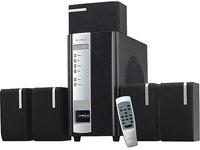 MS-T SB LD-1500 5.1 Lautsprechersystem (45 Watt) schwarz