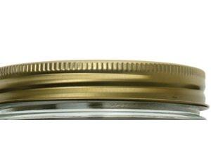 Le parfait - 610089 - Lot de 6 couvercles à vis 11cm Familia Wiss