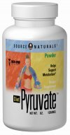 Source Naturals Diet Pyruvate, 750mg, 60 Capsules