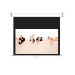 Optoma Panoview 120 inch 16:9 Manual Pull Down Screen - Matt White