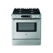 Bosch 700 Series HDI7282U 30 Inch Slide-in Dual-Fuel Range Stainless Steel (Bosch Dual Fuel compare prices)