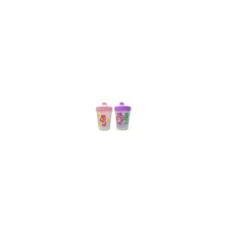 Care Bears Baby Sippy Cups, BPA Free, Baby Girl, Pink And