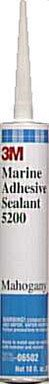 Marine 5200 Adhesive/Sealant (Size: 10 Oz. Cart. Color: Mahogany) By 3m Marine Trades