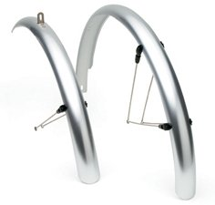 Electra Townie Fender Set Silver Chrome Bike Bicycle