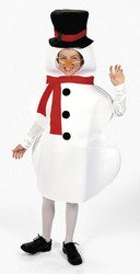 Snowman Winter Holiday Child Costume