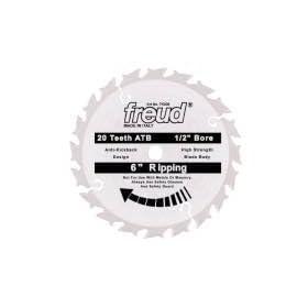 """Freud TK006 Avanti 6"""" 20 Tooth ATB 1/2"""" Arbor Thin Kerf Circular Saw Blade"""