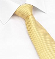 Longer Length Ultimate Performance Pure Silk Textured Spotted Tie