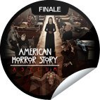 2013 GetGlue American Horror Story AHS Asylum Finale sticker NLA