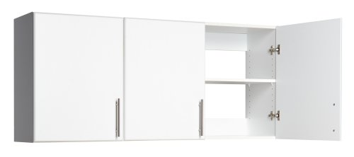 "Prepac Elite Collection 54"" Wall Cabinet with 3 doors"